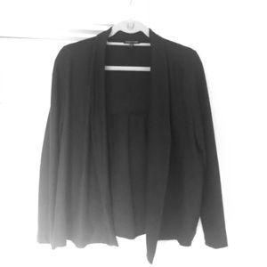 Eileen Fisher cardigan style waterfall jacket
